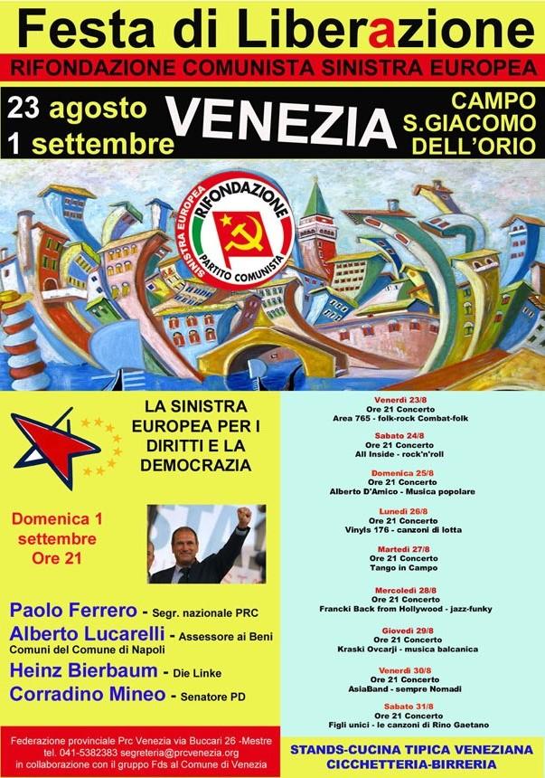 Festa di Liberazione Venezia 2013